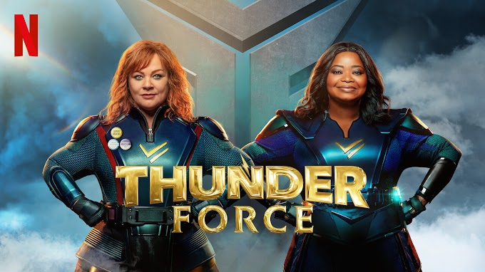 Thunder Force (2021) Hindi (DD 5.1) [Dual Audio] Web-DL 1080p 720p 480p x264 [HD] | Netflix Movie