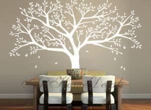 Family Tree Wall Decal Tree Wall Sticker - Vinyl Tree Wall Decor