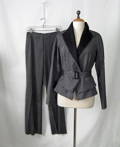 Vogue 1143 suit in progress
