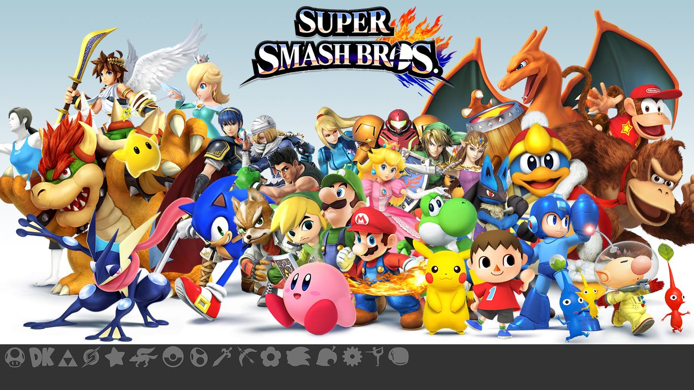 Super Smash Bros Wallpaper 1366x768 52721