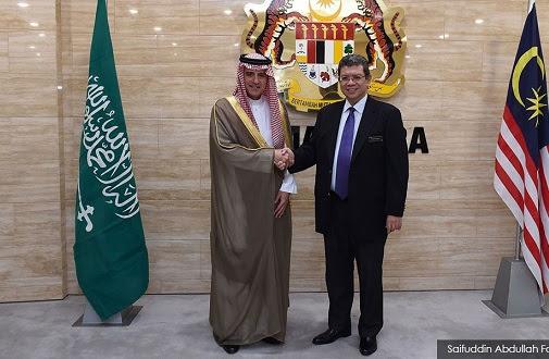Menteri Luar Arab Saudi sahkah derma RM2.6b tiada kaitan negaranya