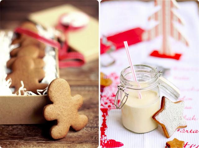 Gingerbread Cookies + Egggnog