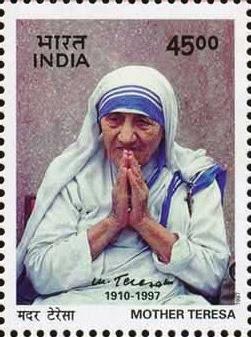 Mother Taresa Stamp