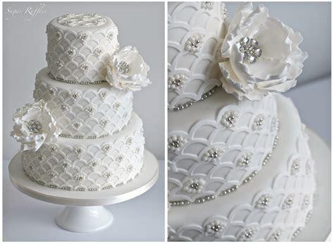 Art Deco  1920s vintage style Wedding Cake