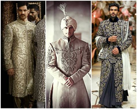 How to Choose the Best Wedding Sherwani   Indian Fashion