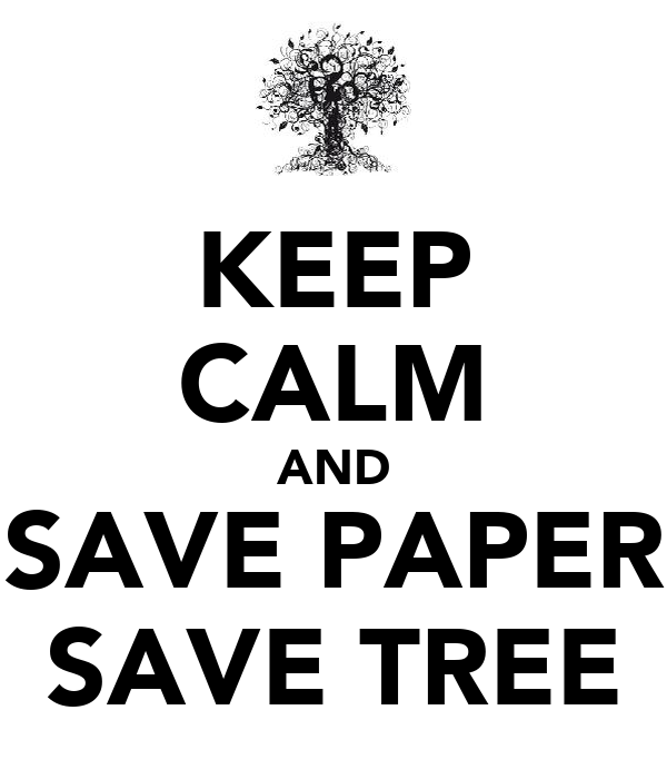 Save Paper Quotes