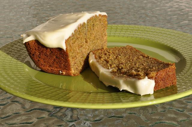 Gâteau pistache-fleur d'oranger