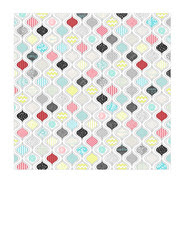 7x7 inch square JPG - SMALL SCALE Ornament paper