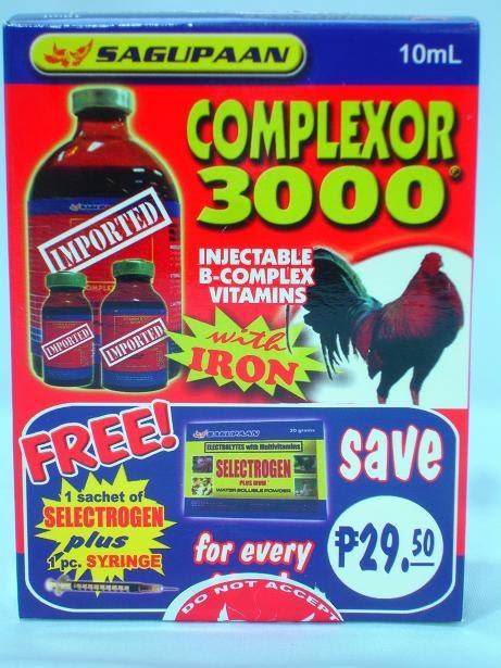 ANG SABONG: Complexor 3000