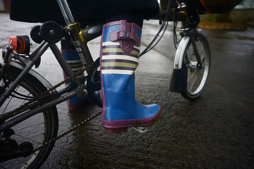 Cycling Wellies