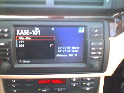 Lots of county music on the radio in texas