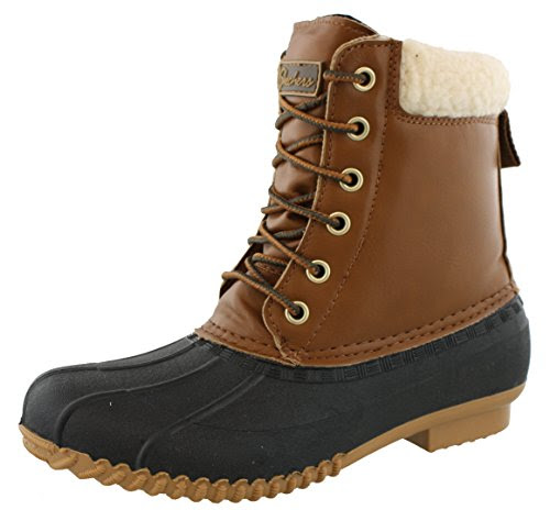 Skechers Women's Duck - Waddle Black Boot 10 Women US