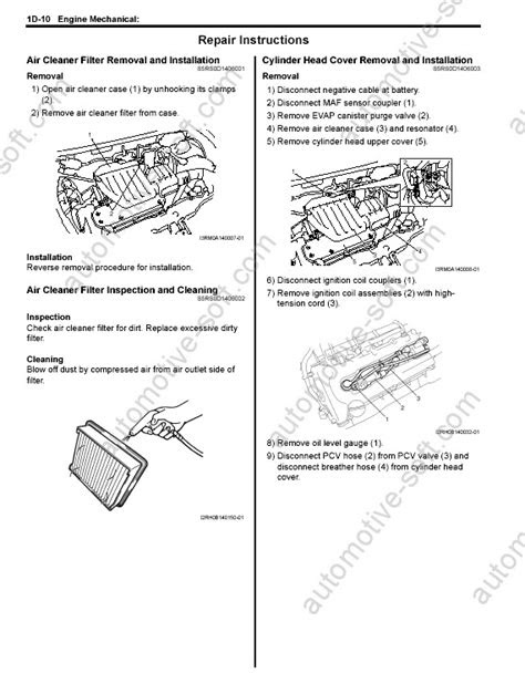 Suzuki Jimny repair manual, service manual, maintenace