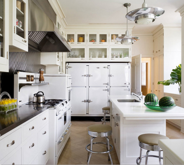 Kitchen design inspiration for our DIY kitchen remodel.