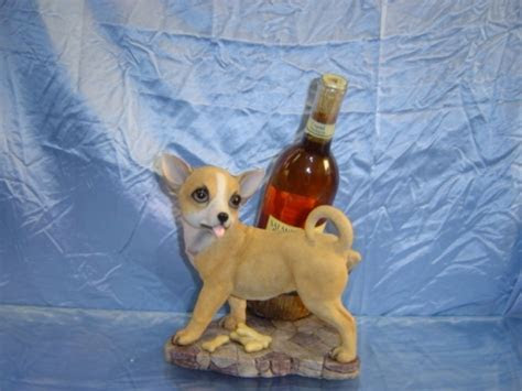 Chihuahua Wine Holder   Dolphins Unlimited