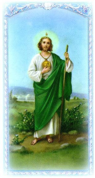 San Judas Tadeo 280ctubre ángel Y Demonio