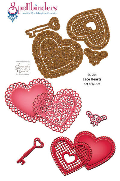 Lace Hearts Dies
