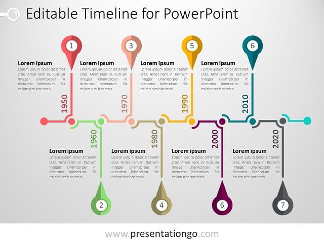 PowerPoint Timeline Template - PresentationGO.com