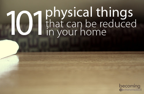 101-physical-things-to-reduce