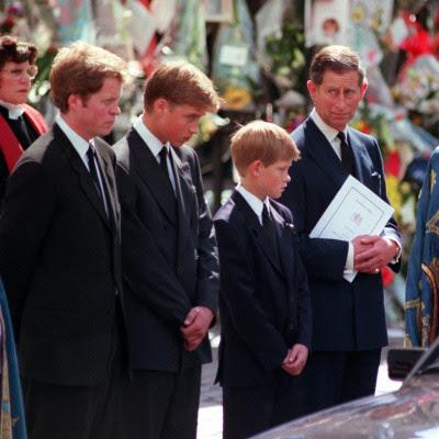 princess diana funeral william and harry. Princess Diana#39;s Funeral