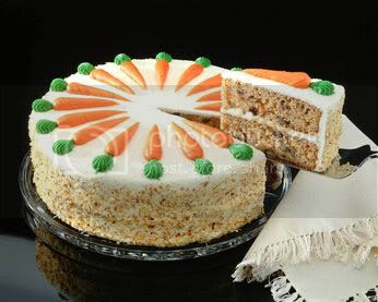 French carrot cake