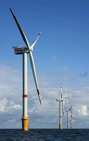 The natural resource of wind powers these 5MW ...