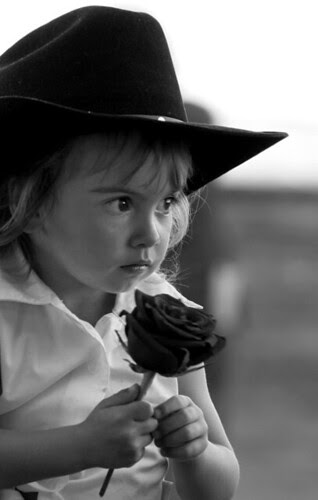cowgirl BW
