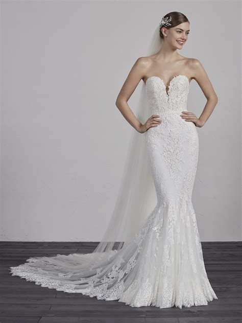 Pronovias London wedding dresses from Mirror Mirror