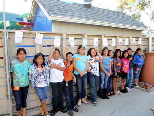 Prayer Flags by kids