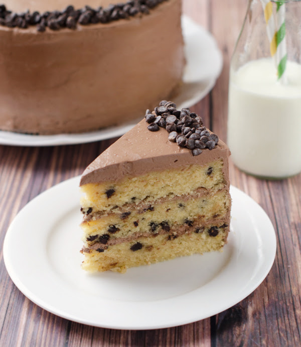 Butterscotch Chocolate Chip Cake