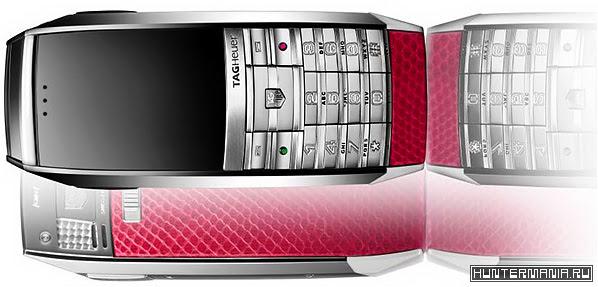 Мобильный телефон TAG Heuer Fuchsia MERIDIIST GMT