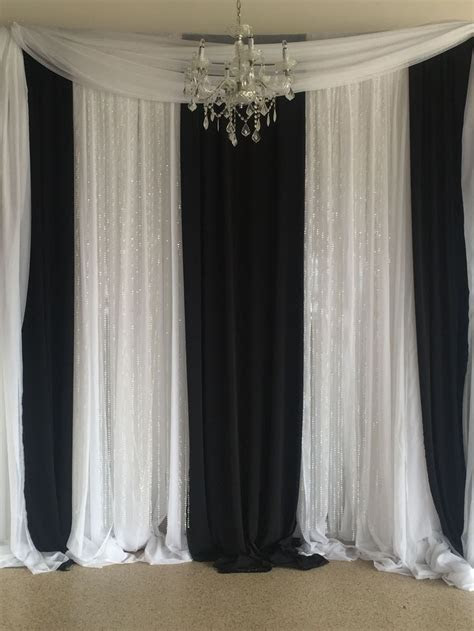 Image result for black white blush pipe and drape