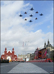 Red Square Planes