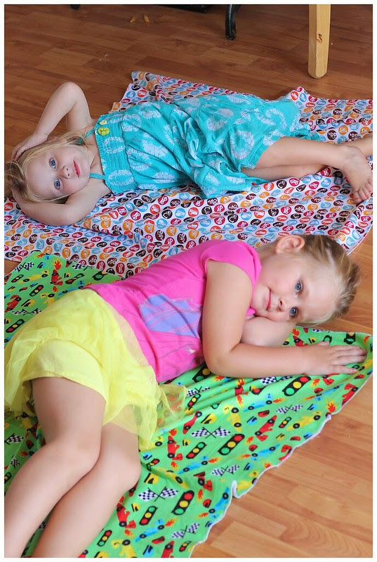 Making Brother's Blankets July 2013 168