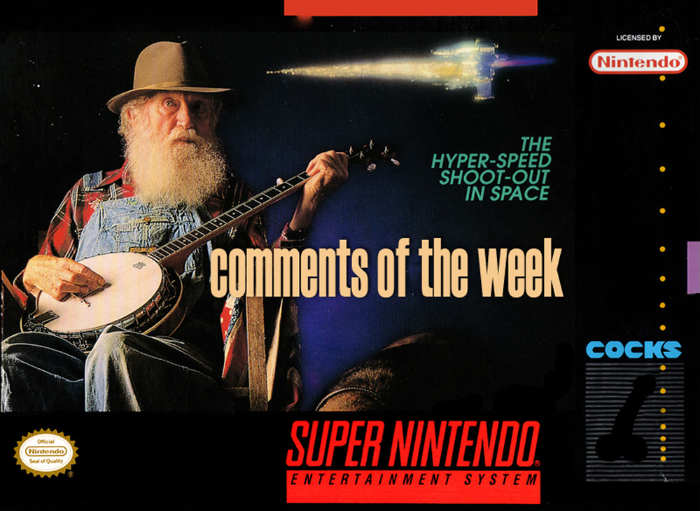Comments of the Week 04: Banjos, Bats, and Boo...Nevermind screenshot