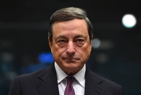Mario Draghi, presidente Bce (EMMANUEL DUNAND/AFP/Getty Images)