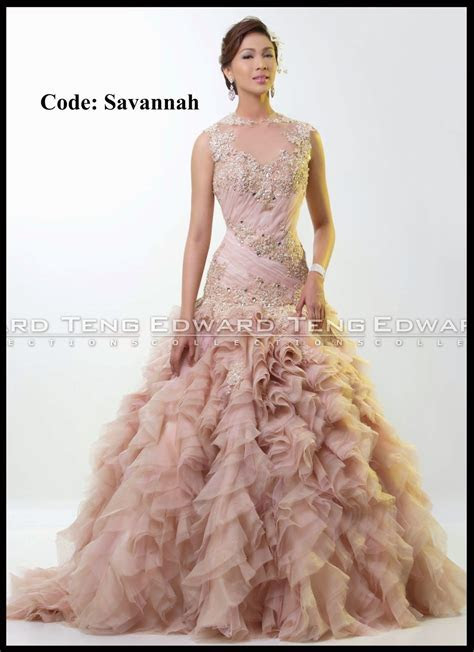 edward teng gown   philippines wedding gown designer in