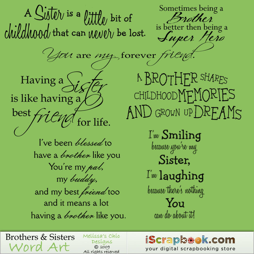 Quotes About Brother Sister 138 Quotes