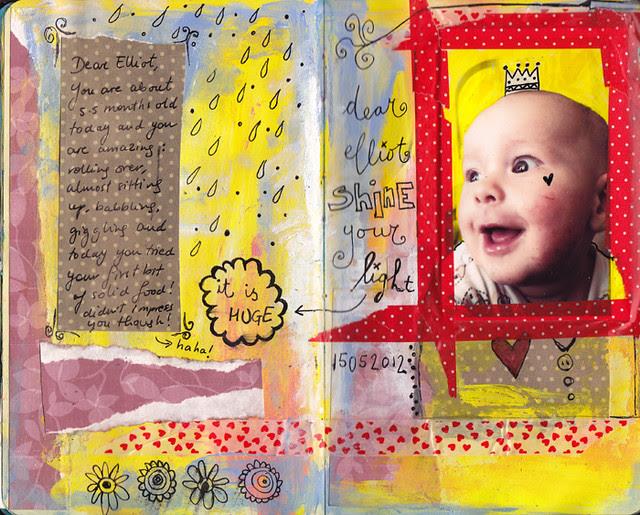 Dylan & Elliot Art Journal - p7
