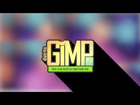 COMO HACER UN LOGOTIPO CON SOMBRA INFINITA EN GIMP 2.10