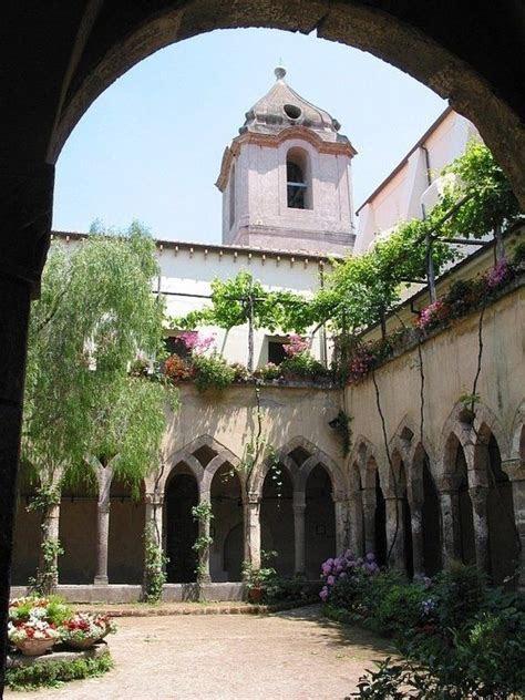 The Cloisters the Church of San Francesco Sorrento Italy