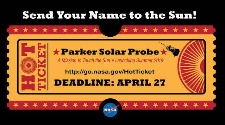 NASA, NASA solar mission, submit names NASA solar mission, NASA Parker Solar Probe mission, Sun, Earth, space, science news