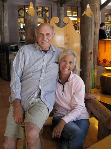 George and his girl, Cindy. Paradise Inn, Mt. Rainier National Park, WA