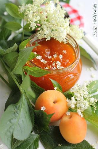 albicocche e sambuco