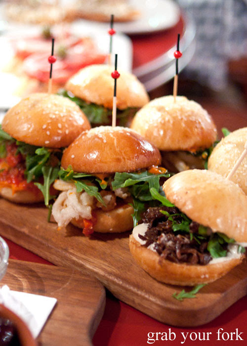Meatball sliders at The Carrington Surry Hills