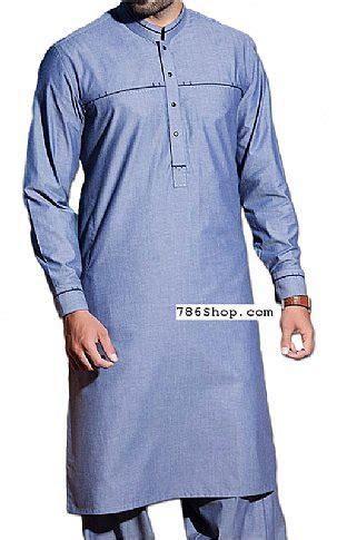 light blue men shalwar kameez buy pakistani indian