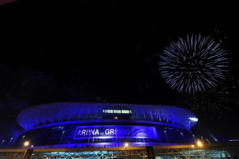 Arena foi inaugurada oficialmente pelo Grêmio:imagem 8