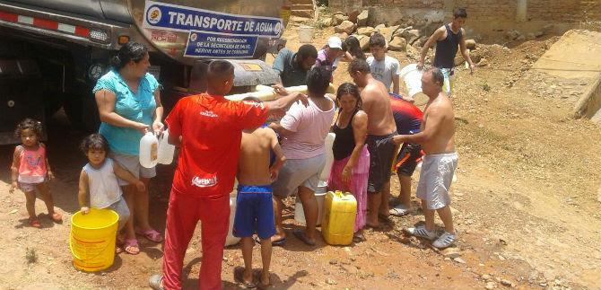 Emcali ha llegado a la ladera con casi dos mil viajes de agua potable