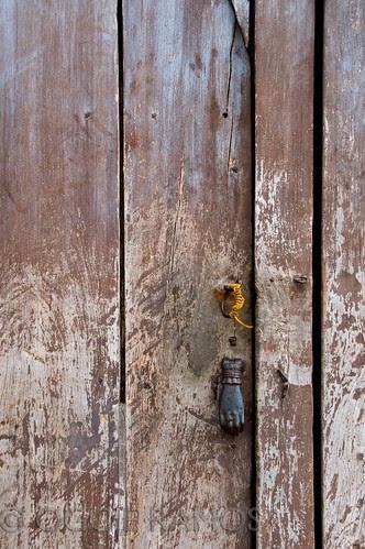 Taal Town Another Interesting Door Knocker