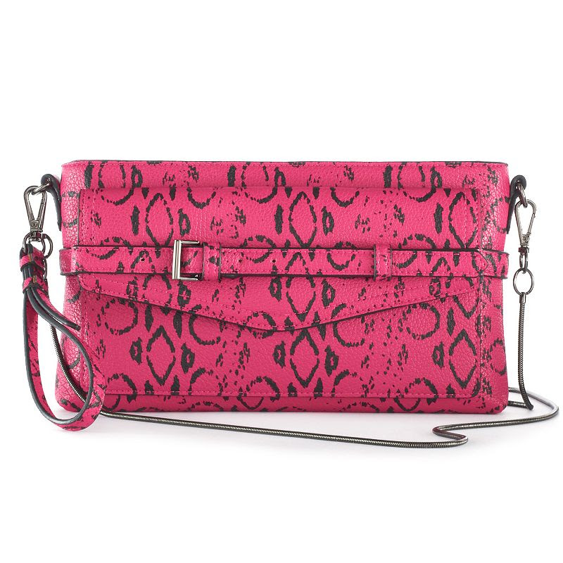 Reed Boxer Belted Crossbody Bag, Women's, Dark Pink